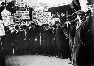 Garment Workers on Strike, New York City, USA, Circa 1913