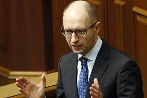 UKRAINE-RUSSIA-UNREST-POLITICS-YATSENYUK