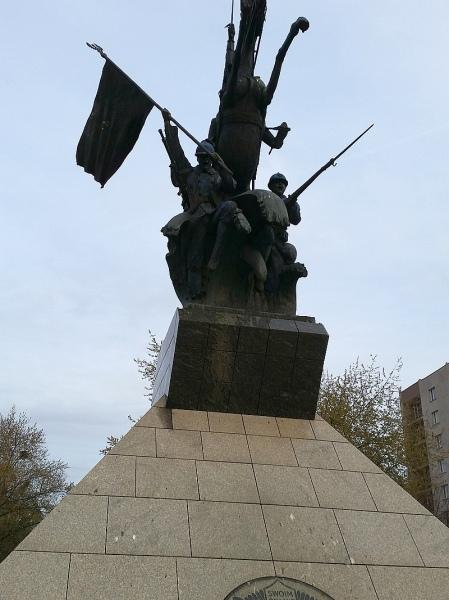 Pomnik Hallerczyków, Żoliborz