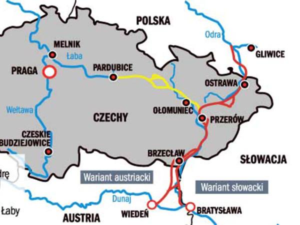 kanal mapa