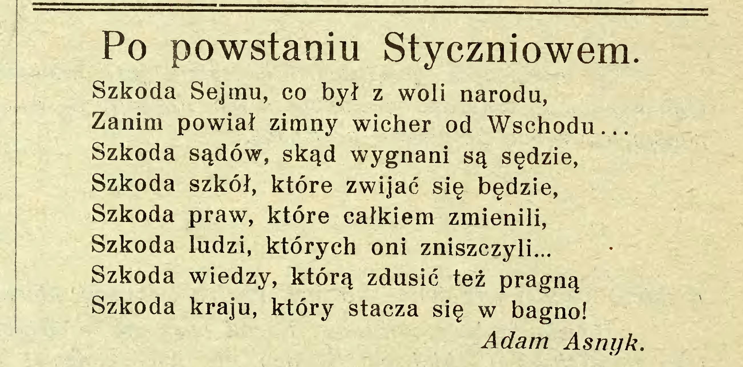 Alina Kwapisz Kulińska O Szkodzie I Szkodnictwie