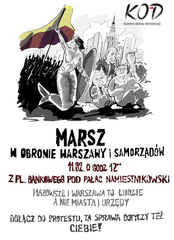 Ernest Skalski Ogłaszam Alarm Dla Miasta Warszawy Niech