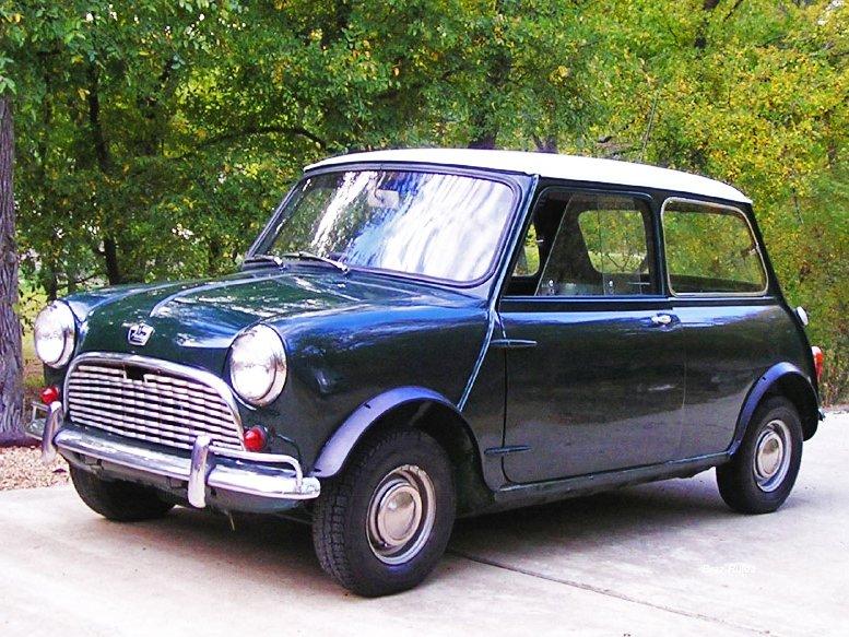 1963 Mk IAustin Mini Super-Deluxe