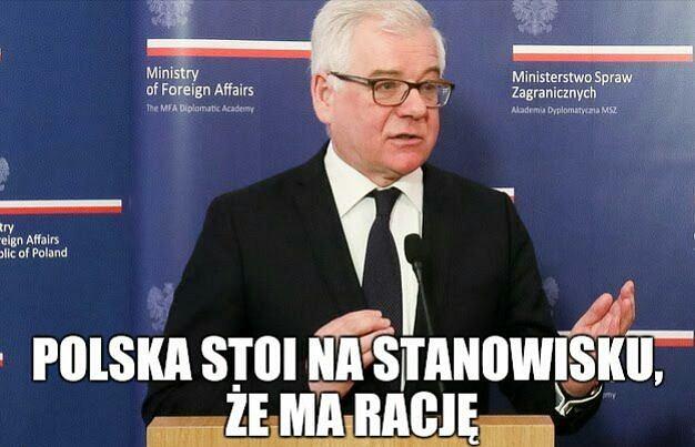 Znalezione obrazy dla zapytania dyplomacja memy