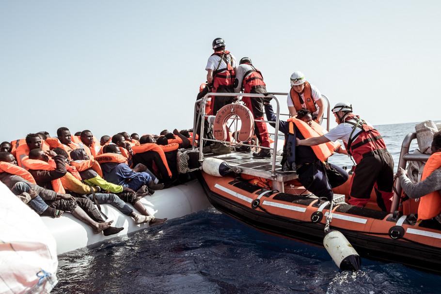 Uchodźcy naMorzu Śródziemnym