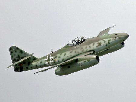 Replika Messerschmitta Me 262.