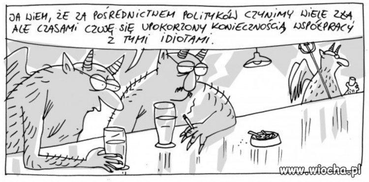 politycy idiabły